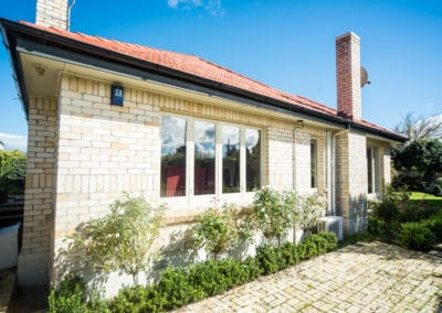 Timber casement windows, retro double glazed