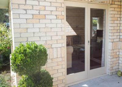 Retrofit double glazing of french doors