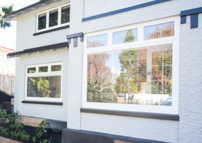 Timber windows - retro double glazed