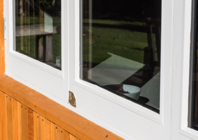 Close-up - bifold windows double glazed