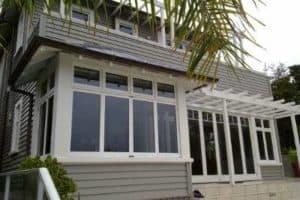 bungalow retrofitted with double glazing using retroglaze system