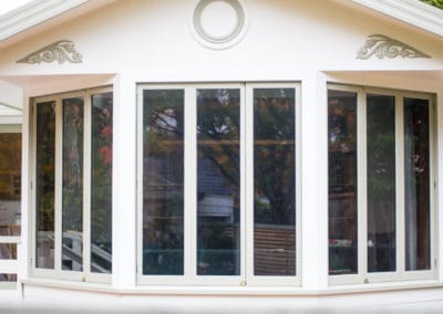 Wellington timber retrofit - double glazed bifold windows