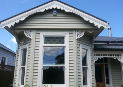 Timber retro-double glazing maintaining character and aesthetic appeal.