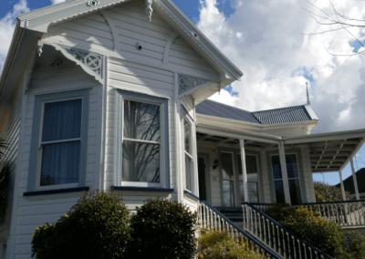 Auckland villa timber retro-double glazing